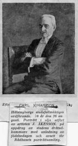 Karl Johansson, ordförande i Helsingborgs stadsfullmäktige