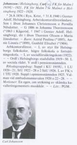 Riksdagsman Karl Johansson