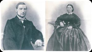 Lars Johan Andersson och Matilda Jonsdotter