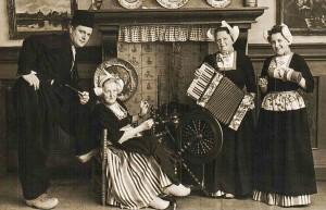 Ellen, Elsa och Harriet i Nederländerna