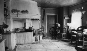 Det gamla köket i Löcka