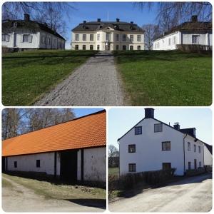 Sturehov slott  med arbetarbostad och ladugård