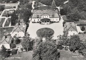 Flygbild över Grönbo - vykort