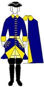 Västgöta kavalleriregementets uniform