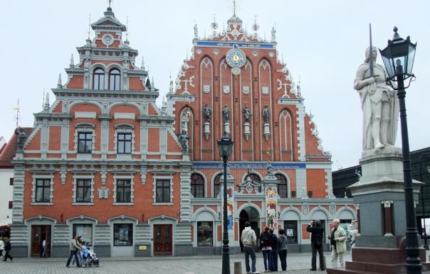 Stadshustorget i Riga. Källa: Wikimedia