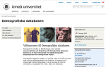 spw_Demografiska databasen–Umeå universitet