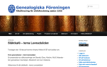 spw_Genealogiska Samfundet