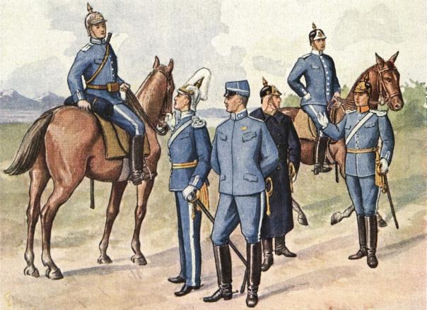 Svenska arméns uniformer modell äldre