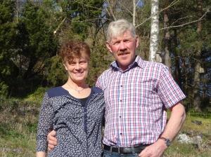 Annika och Göran Davidsson, nuvarande ägare till Borg