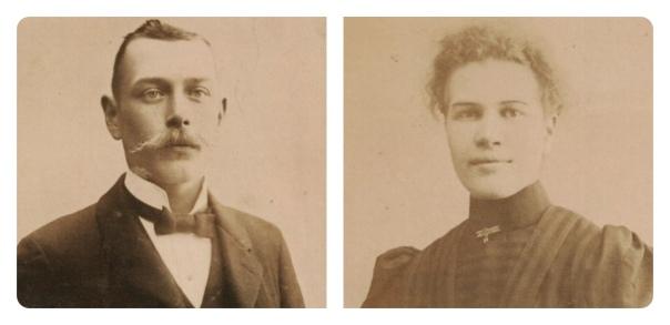 Karl Ivar Andersson och Julia Matilda Johansson
