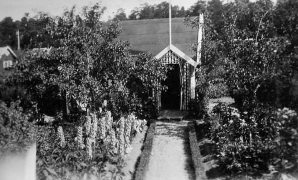 Kolonistuga på Stora mossen byggd 1915